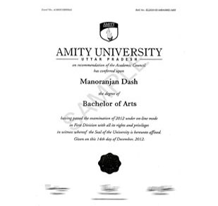 Amity mooc sample degree yelopaper Images